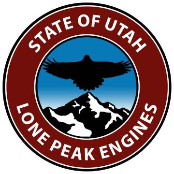Lone Peak Engines Logo
